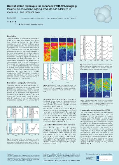Derivatisation & FTIR-FPA imaging